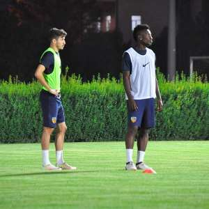 Asamoah Gyan Returns To Training With Kayeserispor
