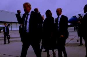Victory Pose At 9/11 Commemoration: Trump's Gesture Causes Outrage