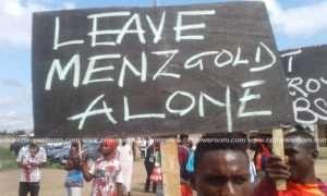 Massive Demonstration At MenzGold