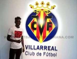 Emmanuel Lomotey Promoted To Villarreal CF First Team