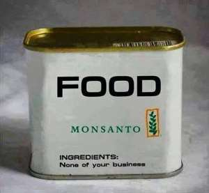 We have the right to know what is inside our food!