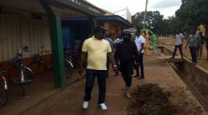 Hon Owusu (In Cap) Leading The Team During The Exercise