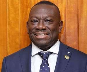 James Kwofie, MD of Ghana Post
