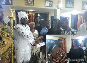Paramount Chief Hosts Tema West MCE