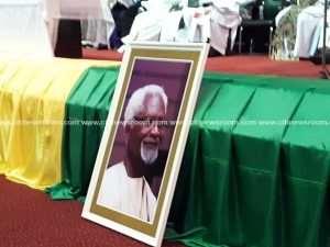 Photos: Prof. Atukwei Okai Laid To Rest