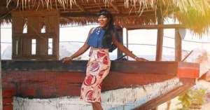 Stephanie Okereke Shining In This Stylish African PrInt Dress