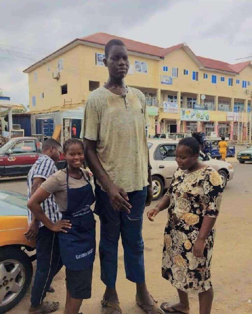 Tallest man in Volta gets ambassadorial contract