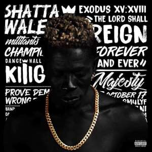 Photos And Video: Shatta Wale Unveils Upcoming Album cover