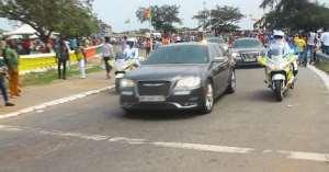 Why I Crossed Akufo-Addo's Convoy - Man Reveals