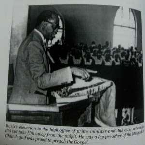 Picture credit – 'K.A. Busia Symbol of democracy' -Anane Agyei