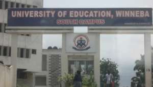 The Grace To Grass Interdicted Vice Chancellor (VC) Of The University Of Education, Winneba (UEW), Now A 'Student Activist'.