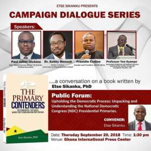 Book Titled 'The Primary Contenders' Set To Be Launched