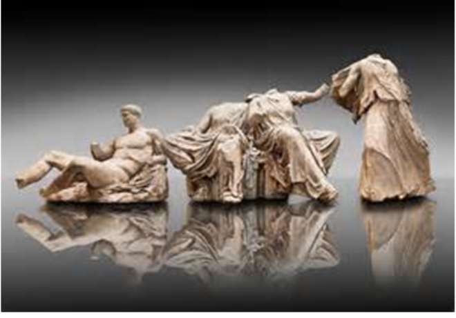 Parthenon Marbles, Athens, Greece, now in British Museum, London, United Kingdom.
