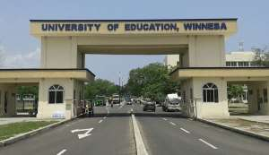 Rev. Aful- Broni squanders GHC 5.7 million from the University of Education within six months of assuming office.