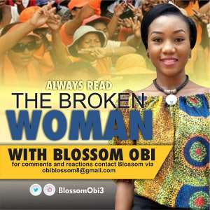 The Broken Woman: On Bended Knees