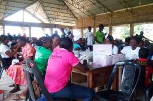 60 Years Of GMA: Ntranoa And Surrounding Communities Undergo Health Screening