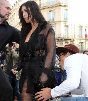 Kim Kardashian's butt assaulted on streets of Paris