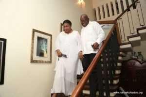 President  Nana Addo Back Home