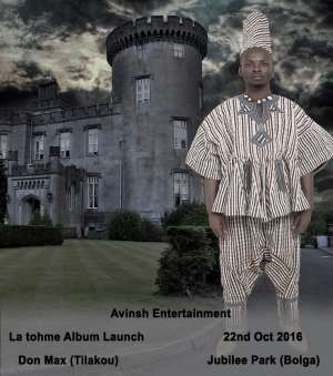Don Max set to launch La Tohme album on the 22nd of October 2016