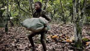 One of the causes that keep children out of school in Africa is child labour