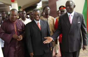 Government allocates Kufuor two Mercedes Benz cars, two four-wheel to follow