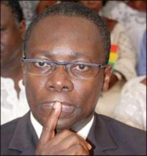 George Sipa-Yankey, Health Minister WHILE