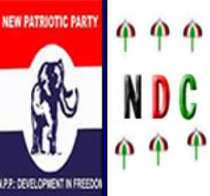 Which is the most Corrupt Party in Ghana?