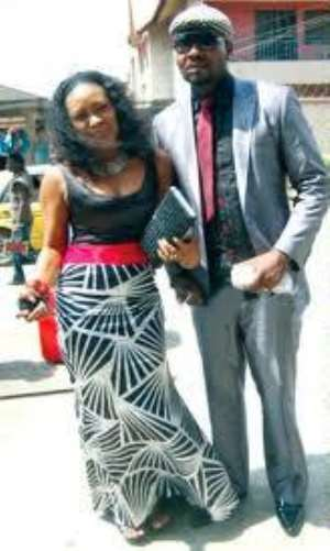 I REALLY DON'T WANT TO TALK ABOUT MY HUSBAND'S HOLLYWOOD DEAL--SONGSTRESS MUMA GEE