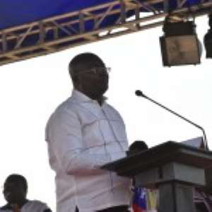 Dr. Bawumia speaking at the conference