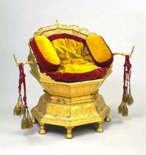 Maharaja Ranjit Singh's Golden Throne, India,