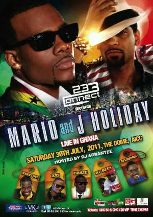 ATUMPAN, STAY JAY, R2BEES & CHASE FOR MARIO/J HOLIDAY CONCERT