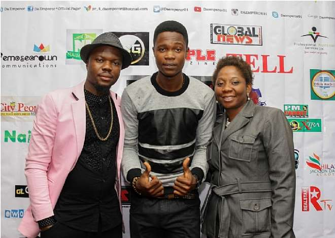 MC KCEEBROWN, DA EMPEROR AND MRS OPAYEMI MODUPEOLUWA