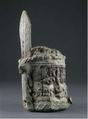 Memorial Head, Benin, Nigeria. , Austrian Collection