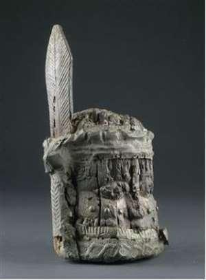 Memorial Head, Benin, Nigeria. , Austrian Collection