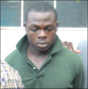 Kwasi Adu, the suspected killer