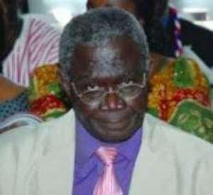 Former Member of Parliament for Asikuma Odoben Brakwa, P.C. Appiah-Ofori