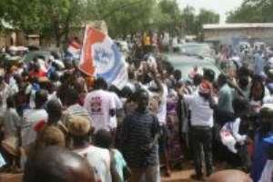 Akufo-Addo Receives Overwhelming Support in Navrongo and Bolgatanga