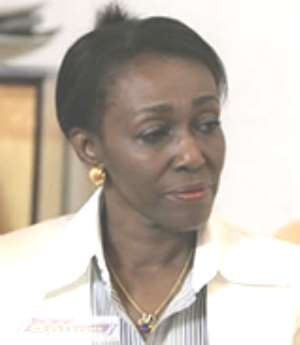 Mrs Rawlings has been prevailed upon by the party to denounce the groups calling on her to challenge the president