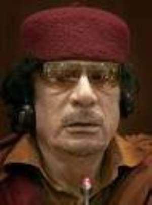 President Gaddafi criticises UN structure