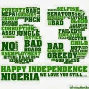 NIGERIA INDEPENDENCE DAY: CELEBRATING 53 YEARS OF TEARS