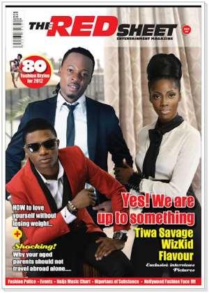 Tiwa Savage & Friends Cover Red Sheet Magazine