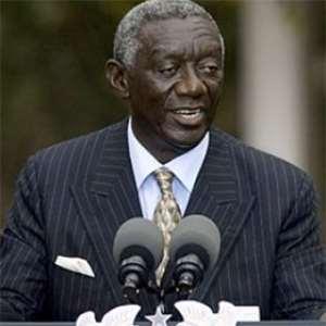 Former President John Kuffuor
