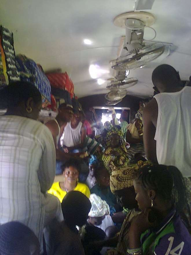 OVER CROWDED RAILWAY PASSENGERS INSIDE THE TRAIN PACKED
