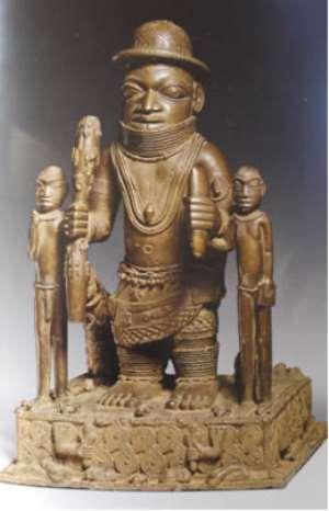 Oba Ewuakpe, Benin, Nigeria, now in Ethnologisches Museum, Berlin, Germany