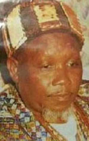 The late Ya-Na Yakubu Andani