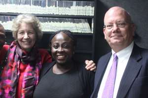 EXCLUSIVE INTERVIEW AT WAZOBIA FM 95.1FM WITH LOLO 1 & THE UNITED STATES AMBASSADOR TO NIGERIA (Ambassador James F. Entwistle)