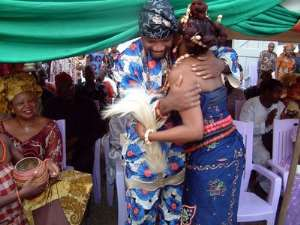 Proper marriage in Africa follows the traditional norms.