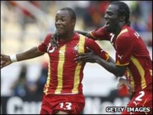 Dede Ayew's goal took the Stars through