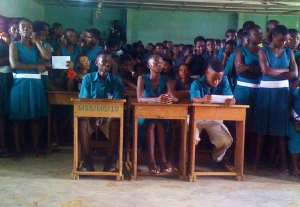 A SECTION OF THE MPOHOR SHS STUDENTS
