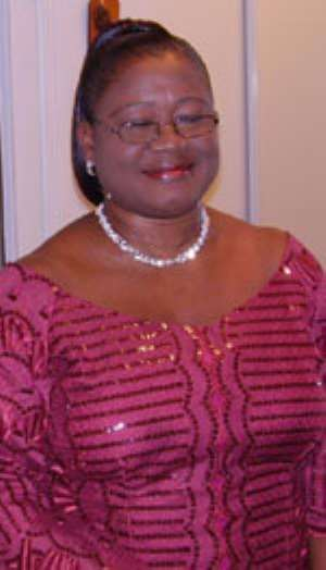 Dr. Margaret Amoakohene, newly appointed Ag. Director of SCS